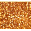Seedbead Silver lined Gold 4/0
